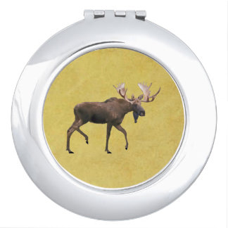 Bull Moose Travel Mirror