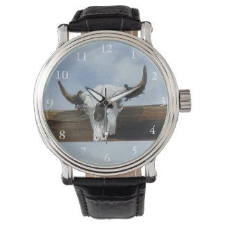 Bull Skull Color Watch