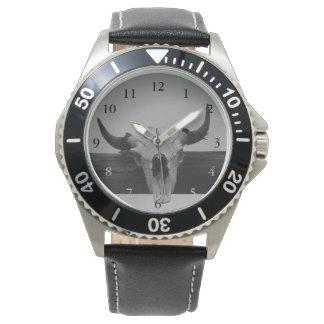 Bull Skull Watch