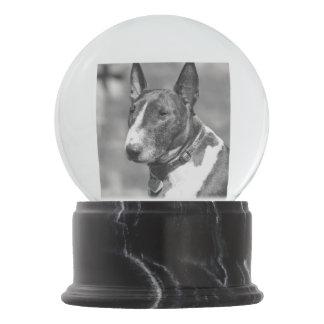 Bull Terrier dog Snow Globes