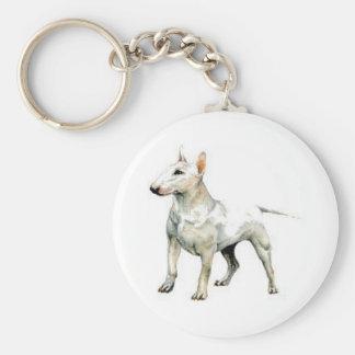 Bull Terrier Key Ring