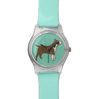 Bull terrier watch