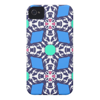 Bulldog Abstraction Case-Mate iPhone 4 Cases