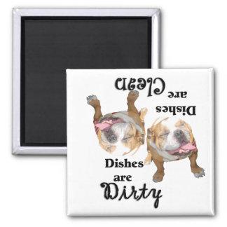 Bulldog Dishwasher Magnet