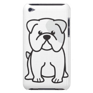 Bulldog Dog Cartoon iPod Touch Cases
