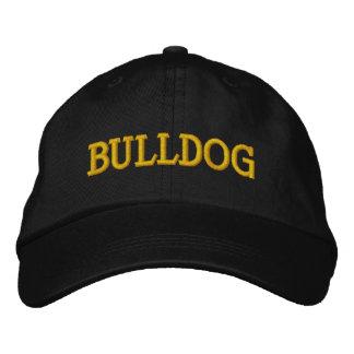 BULLDOG EMBROIDERED CAP