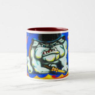BullDog - HOT!HOT!HOT!HOT!HOT... Two-Tone Mug