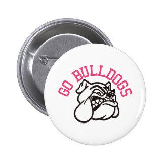 Bulldogs 6 Cm Round Badge