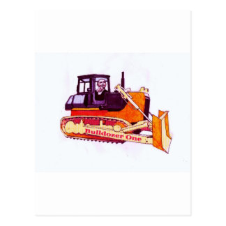 Bulldozer One Postcard