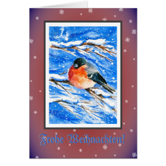 Bullfinch christmas card