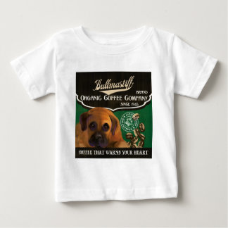Bullmastiff Brand – Organic Coffee Company Baby T-Shirt