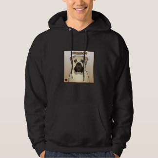 Bullmastiff Cartoon Hoodie