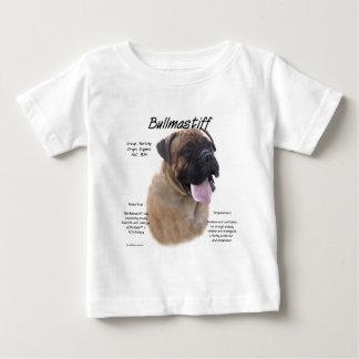 Bullmastiff (fawn) History Design Baby T-Shirt