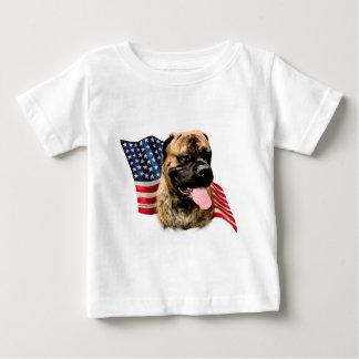 Bullmastiff Flag Baby T-Shirt