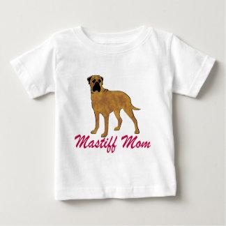 Bullmastiff Mom Baby T-Shirt