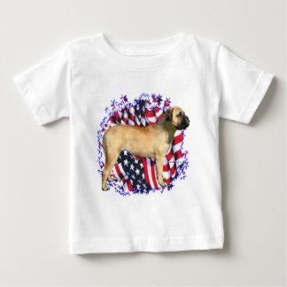 Bullmastiff Patriot Baby T-Shirt