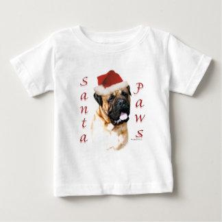 Bullmastiff Santa Paws Baby T-Shirt