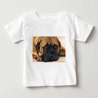 Bullmastiff Waiting - Dog Breed Art Baby T-Shirt