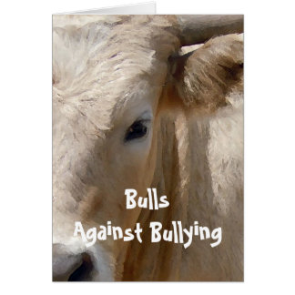 Bulls Against Bullying #5 of 7 Different Card