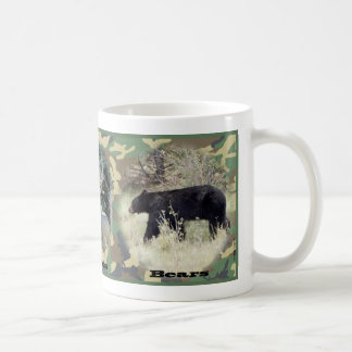 Bulls, Bucks & Bears camo mug