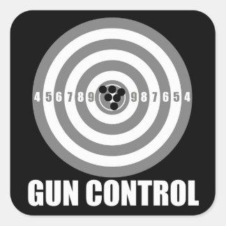 bullseye gun control stickers