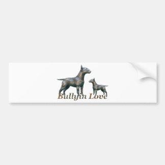 BullyinLove- Logo Car Bumper Sticker