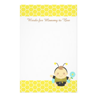 Bumble Bee Baby, For Mummy to Be Stationery