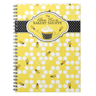 Bumble Bee Business Notebook