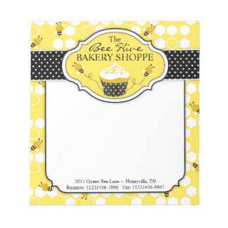 Bumble Bee Mini Notepad 2