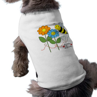 Bumble Bee With Flowers Bee Love Shirt