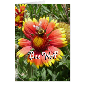 Bumblebee Blank Note Card