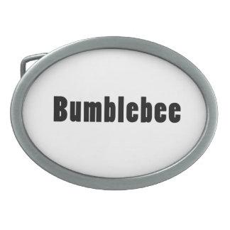 Bumblebee Oval Belt Buckle