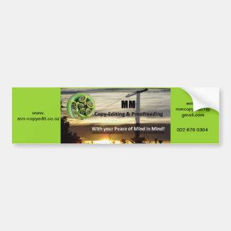 Bumper sticker business