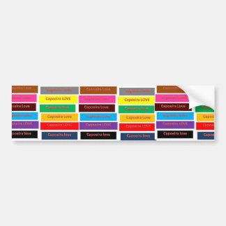 bumper sticker capoeira love