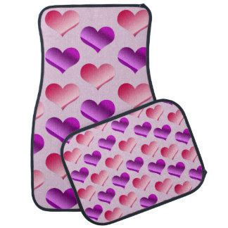 Bunches of Hearts Car Mat