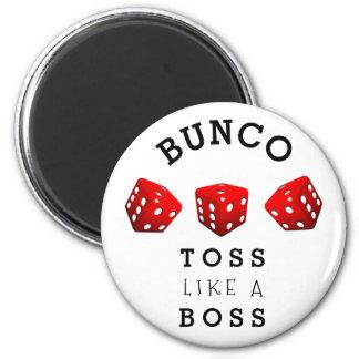Bunco 6 Cm Round Magnet