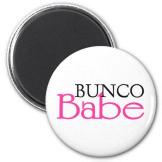 Bunco Babe 6 Cm Round Magnet