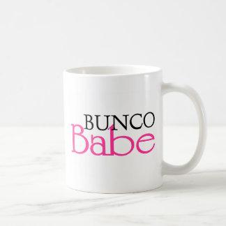 Bunco Babe Basic White Mug