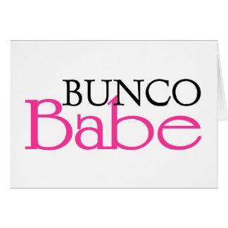 Bunco Babe Card