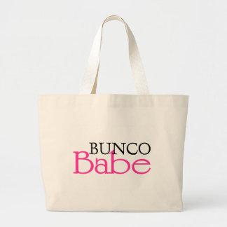 Bunco Babe Large Tote Bag