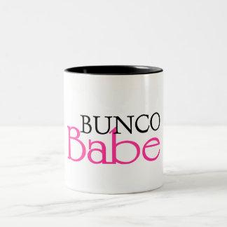 Bunco Babe Two-Tone Coffee Mug