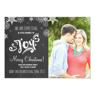 Bundle of Joy Christmas pregnancy announcement