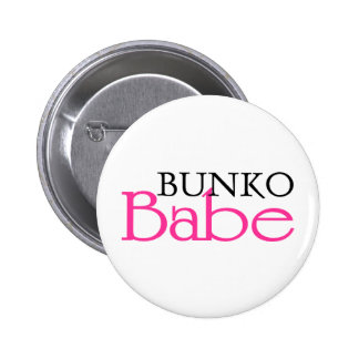 Bunko Babe Pinback Buttons