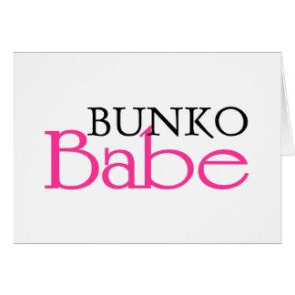 Bunko Babe Greeting Card