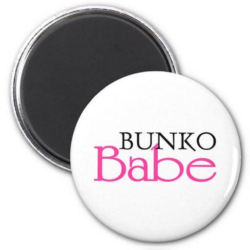 Bunko Babe Fridge Magnets