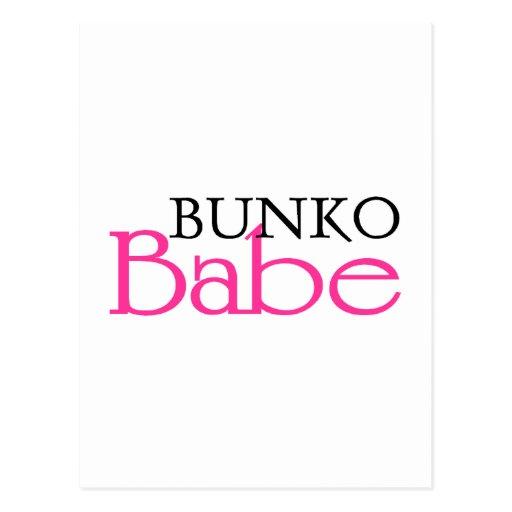Bunko Babe Postcard