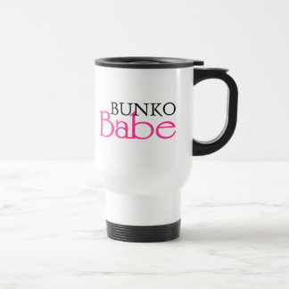 Bunko Babe Stainless Steel Travel Mug