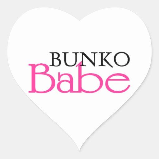 Bunko Babe Heart Sticker