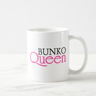 Bunko Queen Basic White Mug