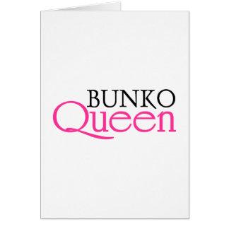 Bunko Queen Greeting Card